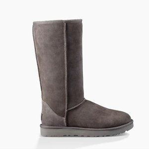 UGG Grey Classic Tall Sheepskin Boot